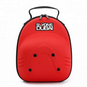 4 pack Baseball red cap box bag travel hat carrying case
