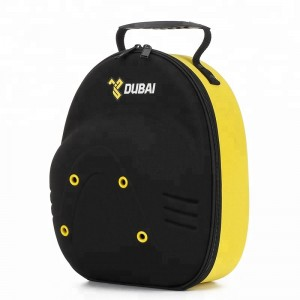 Carrier logo custom design baseball cap carrier with yellow for 4pack