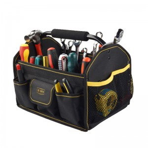 Electrician Open Mouth Top Tool Tote Bag