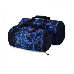 Custom Heavy Duty Cargo Large Sports Gym Sack Travel Duffel Bag Camouflage Travel Shoulder Duffel Bag with Shoe