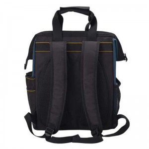 The New kind of Tool Backpack Tradesman Organizer Bag wide open mouth Waterproof Tool Bags Multifunction knapsack