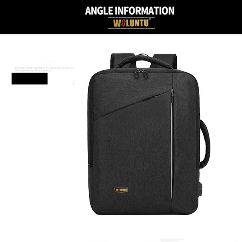 WOLUNTU-Travel-Computer- Bag-for-15.6-Inch- Laptops-black