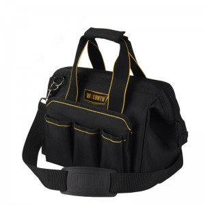"Electrician Tool Bag Multi-function Capacity Tote Bags Black (11"")"